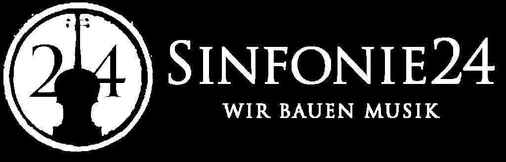Sinfonie24 Logo Dark mit schrift