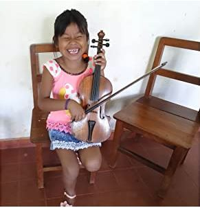 Indigenes Kind aus Bolivien