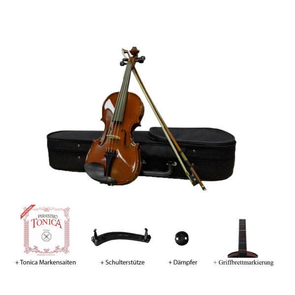 All-in-One-Geigen-Set Palisander (Basic-III)